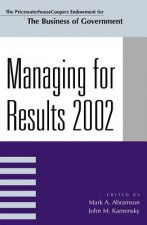Managing for Results 2002