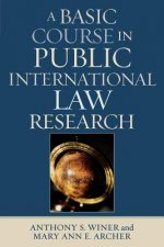 Basic Course in International Law Research