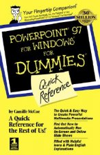 PowerPoint 97 for Windows for Dummies Quick Reference