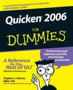 Quicken 2006 For Dummies