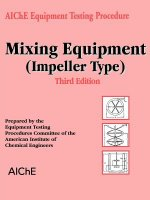 Mixing Equipment (Impeller Type)
