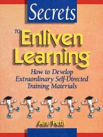 Secrets to Enliven Learning