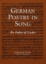 German Poetry in Song