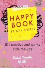 Happy Book Sticky Notes