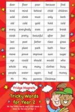 Fridge Magnets - Tricky Words for Year 2