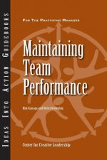 Maintaining Team Performance