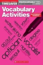 Vocabulary Activities Pre Intermediate and Intermediate