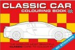 Classic Car Colouring Book