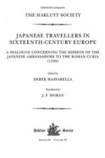 Japanese Travellers in Sixteenth-century Europe