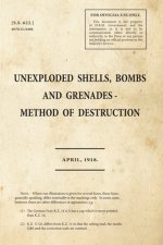 Unexploded Shells, Bombs and Grenades Method of Destruction