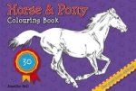 Horse and Pony Colouring Book