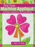 First-time Machine Applique