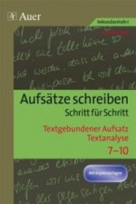 Textgebundener Aufsatz - Textanalyse
