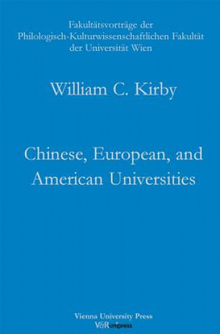 Chinese, European, and American Universities