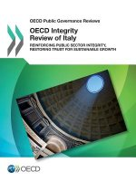 OECD Integrity Review of Italy