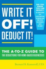 Write it off! Deduct it!