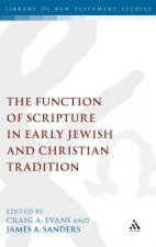 Function of Scripture in Early Jewish and Christian Tradition