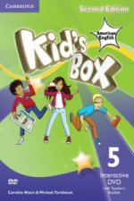 Kid's Box American English Level 5 Interactive DVD (NTSC) with Teacher's Booklet