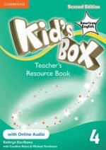 Kid's Box American English Level 4 Teacher's Resource Book with Online Audio