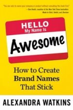 Hello, My Name Is Awesome: How to Create Brand Names That St