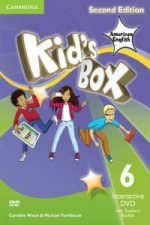 Kid's Box American English Level 6 Interactive DVD (NTSC) with Teacher's Booklet