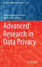 Advanced Research in Data Privacy, 1