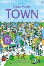 Sticker Puzzle Town