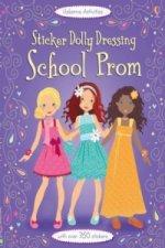 Sticker Dolly Dressing School Prom