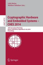 Cryptographic Hardware and Embedded Systems -- CHES 2014, 1