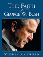 Faith of George W. Bush
