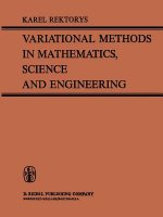 Variational Methods in Mathematics, Science and Engineering