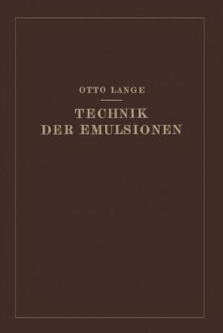 Technik Der Emulsionen