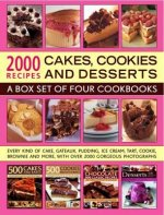 2000 Recipes: Cakes, Cookies & Desserts