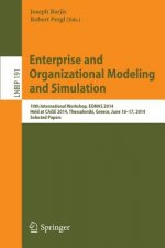 Enterprise and Organizational Modeling and Simulation, 1