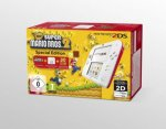 Nintendo 2DS White/Red + New Super Mario Bros. 2, Nintendo 3DS-Spiel