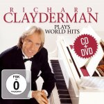 Richard Clayderman Plays World Hits, 2 Audio-CDs + 1 DVD