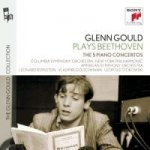 Glenn Gould plays Beethoven: The 5 Piano Concertos, 3 Audio-CDs