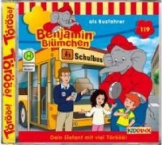 Benjamin Blümchen als Busfahrer