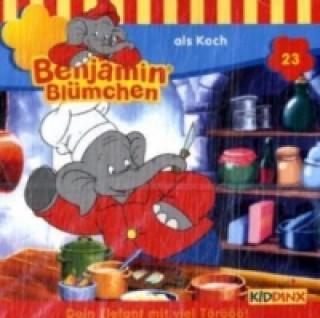 Benjamin Blümchen als Koch