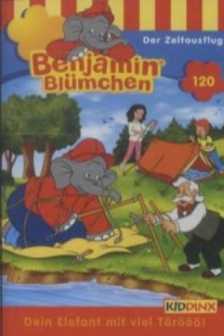 Benjamin Blümchen - Der Zeltausflug, 1 Cassette