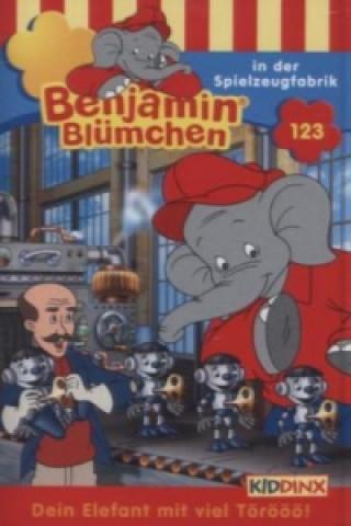 Benjamin Blümchen - In der Spielzeugfabrik, 1 Cassette