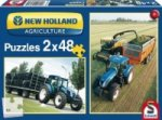 New Holland Agriculture (Kinderpuzzle), TD5 115 / FR500