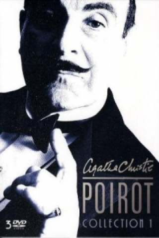 Poirot Collection. Nr.1, 3 DVDs
