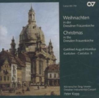 Weihnachten in der Dresdner Frauenkirche. Christmas at the Dresden Frauenkirche