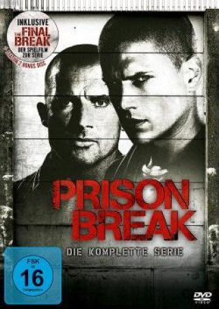 Prison Break, Die komplette Serie, 24 DVDs