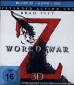 World War Z 3D, Extended Action Cut, 1 Blu-ray