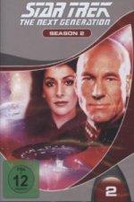 STAR TREK: The Next Generation. Season.02, 6 DVD