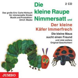 Die kleine Raupe Nimmersatt/ Der kleine Käfer Immerfrechs