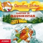 Geronimo Stilton - Camping in Mausikistan, 1 Audio-CD