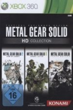 Metal Gear Solid HD Collection, Xbox360-DVD
